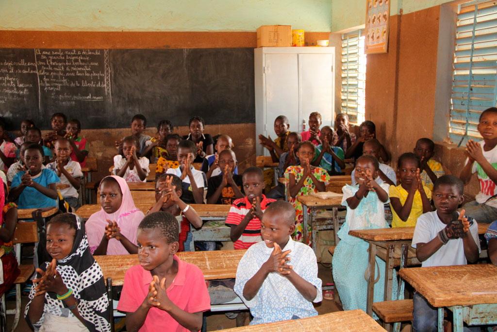 Dépistage et motivation de 450 élèves à l'école Bimbili