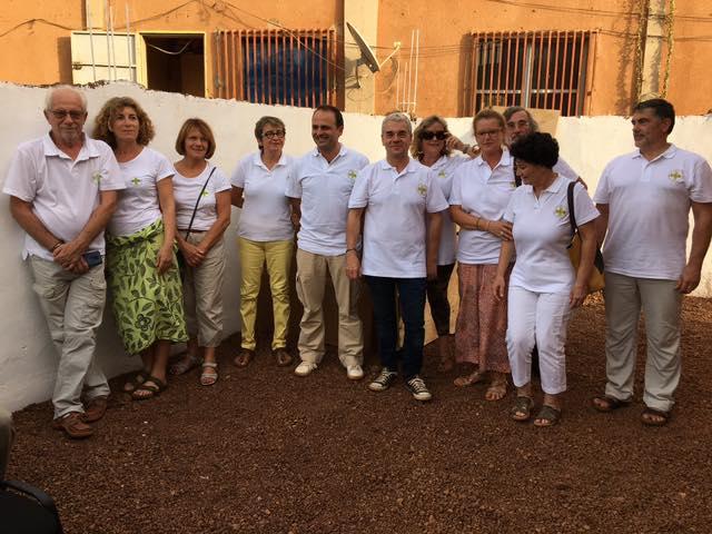 Les 11 bénévoles de l'association DSA au Burkina Faso