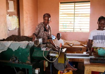 La Savonnerie du Centre de Formation de Basnéré à Ouhigouya