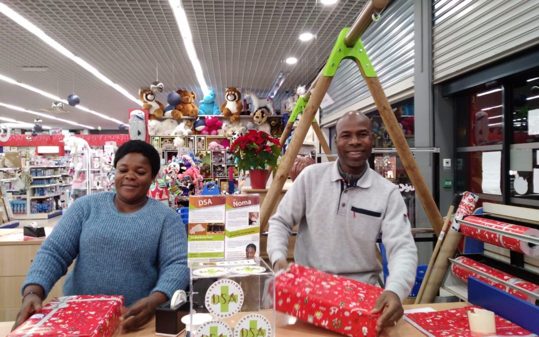 Emballage des cadeaux pour le Nöel 2019